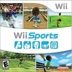 Wii Sports - Nintendo Wii [Second hand] - Jocuri WII, Sporturi, 3+, Multiplayer