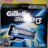 Rezerve Gillette  Mach3  set de 6 bucati.