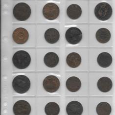 Lot 20 monede straine, Europa