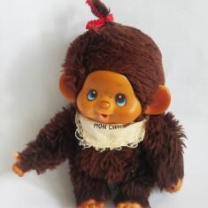 Monchhichi (kiki, Moncici) Sekiguchi, maimutica maimuta jucarie plus 18 cm - Jucarii plus