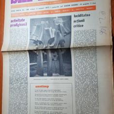 ziarul saptamana 5 august 1977-vizita lui ceausescu in valea jiului