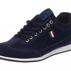 Pantofi Casual Barbati Italy Albastri