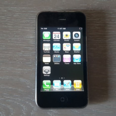 Smartphone Apple Iphone 3G 8GB Black/Liber icloud si retea. Livrare gratuita!, Negru, Neblocat