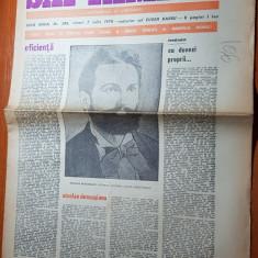 Ziarul saptamana 7 iulie 1978-nic. desusianu, autorul lucrarii -dacia preistorica