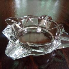 Scrumiera de cristal marcaj Franta - Scrumiera sticla