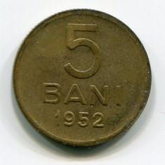 5 bani 1952, RPR; stare VF+ - Moneda Romania