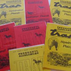 Lot 7 programe alergari hipice Hipodromul din PLOIESTI (anul 1974)