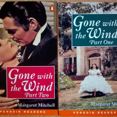 Margaret Mitchell - Gone with the Wind {2 volume} {Penguin Readers} - Carte in engleza