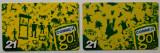 ROMANIA LOT / SET 2 x 21 $ cartele Connex - PENTRU COLECTIONARI **