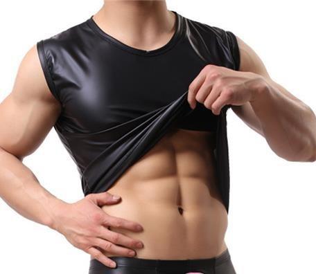 Maieu tip piele pentru barbati - sexy, fashion, fetish, BDSM