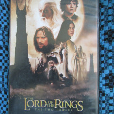 THE LORD OF THE RING 2 - THE TWO TOWERS (1 DVD FILM - cu SUBTITRARE IN ROMANA!)