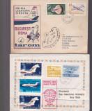 Primul zbor 2 plicuri  1965 1971