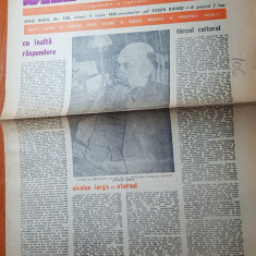 ziarul saptamana 5 iunie 1981 - 110 ani de la nasterea lui nicolae iorga