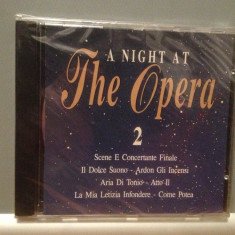 A NIGHT AT THE OPERA 2 - Var. ARTISTS (1993/DISKY/UK) - CD ORIGINAL/Sigilat/Nou - Muzica Opera emi records