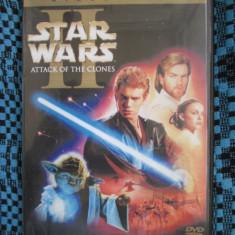 STAR WARS  II - ATACK OF THE CLONES (1 DVD FILM - cu SUBTITRARE IN ROMANA!)