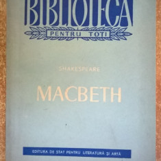 Shakespeare – Macbeth - Carte Teatru