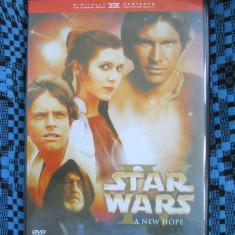 STAR WARS IV - A NEW HOPE (1 DVD FILM - cu SUBTITRARE IN ROMANA!)