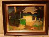 Vand tablou scoala baimareana semnat Nagy Oszkar, Natura, Ulei, Altul