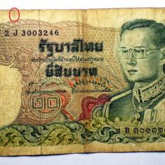 96. TAILANDA THAILANDA 20 BAHT 1981 SR. 246 - bancnota asia