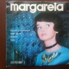Margareta paslaru un spin si un trandafir single disc vinyl Muzica Pop electrecord usoara, VINIL