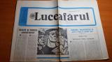 "ziarul luceafarul 8 noiembrie 1986-articol ""inalta si nobila constiinta """