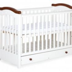Patut pentru Copii Din Lemn Klups Rafal Wenge - Patut lemn pentru bebelusi