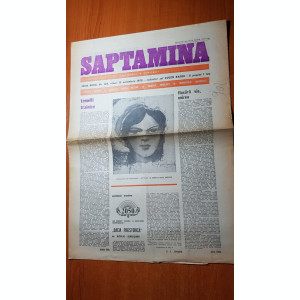 ziarul saptamana 10 noiembrie 1978-articoe despre unirea de la 1918