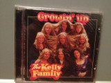 THE KELLY FAMILY - GROWIN' UP (1997/EMI/HOLLAND) - CD ORIGINAL/Sigilat/Nou, emi records