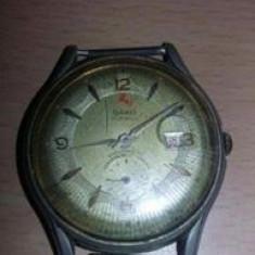 ceas vechi Elvetian marca DAKO,17 jewels,unbreakable spring,Antimagnetic,T.GRAT
