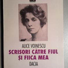 Scrisori catre fiul si fiica mea -- Alice Voinescu - Biografie
