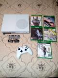 Xbox one s 500 GB 4k +8 jocuri(schimb)