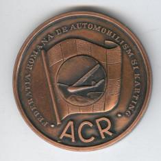 ACR - Automobilism Club Roman - karting- Aeromodelism Medalie AVIATIE - Medalii Romania