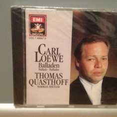 CARL LOEWE - BALLADS -N.SHELTER -piano (1989/EMI/RFG) - CD ORIGINAL/Sigilat/Nou - Muzica Clasica emi records