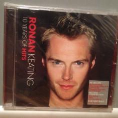 RONAN KEATING - 10 YEARS OF HITS (2004/POLYDOR/UK) - CD ORIGINAL/Sigilat/Nou - Muzica Pop