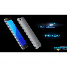 UMI Z, Helio X27 MTK6797X 2.6GHz Deca Core 4GB RAM 32GB ROM, ecran 5.5 Inch 2.5D Sharp FHD - Display LCD