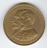 1985 MIHAIL KOGALNICEANU & A.I. CUZA - UNIVERSIT IASI Medalie ISTORIE ROMANEASCA