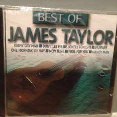 JAMES TAYLOR - BEST OF (1999/EMI/GERMANY) - CD ORIGINAL/NOU/SIGILAT - Muzica Rock emi records