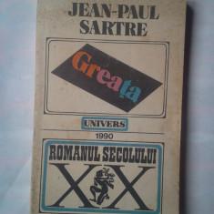 (C368) JEAN-PAUL SARTRE - GREATA - Roman