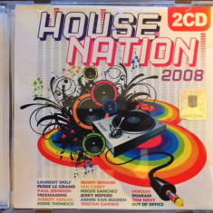 House Nation 2008 (dublu CD original) - Muzica House roton
