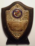 5.280 PLACHETA MAREA BRITANIE FOTBAL WEST FULHAM 1954-1955 98/76mm, Europa
