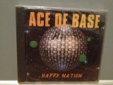 ACE OF BASE - HAPPY NATION (1993/METRONOME/GERMANY) - CD ORIGINAL/NOU/SIGILAT, universal records