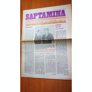 ziarul saptamana 30 mai 1980-380 ani de la unirea tarilor romane mihai vireazul