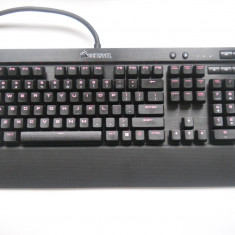 Tastatura Gaming Corsair K70 LUX Red LED Cherry MX Red Mecanica. - Tastatura PC Corsair, Cu fir, USB, Tastatura iluminata