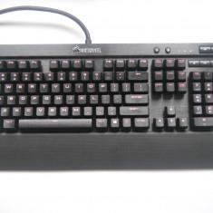 Tastatura Gaming Corsair K70 LUX Red LED Cherry MX Red Mecanica. - Tastatura PC Corsair, Cu fir, USB, Tastatura iluminata