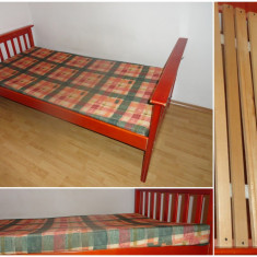 Cadru pat+saltea - Pat dormitor