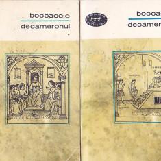 BOCCACCIO - DECAMERONUL ( 2 VOL ) ( BPT 345-346 )