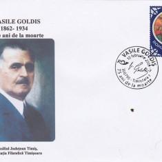 Bnk fil Plic ocazional Timisoara 2009 Vasile Goldis 75 ani de la moarte, Romania de la 1950, Oameni