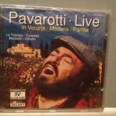 PAVAROTTI - LIVE in VERONA/MODENA....(1986/DECCA/RFG) - CD ORIGINAL/Sigilat/Nou - Muzica Opera decca classics
