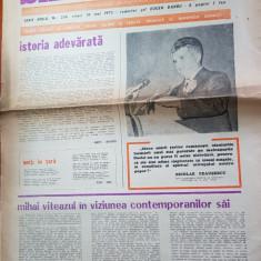 Ziarul saptamana 6 iunie 1975-375 de ani de la unirea lui mihai viteazul