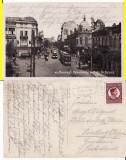 Bucuresti - Calea Grivitei -animata, tramvai